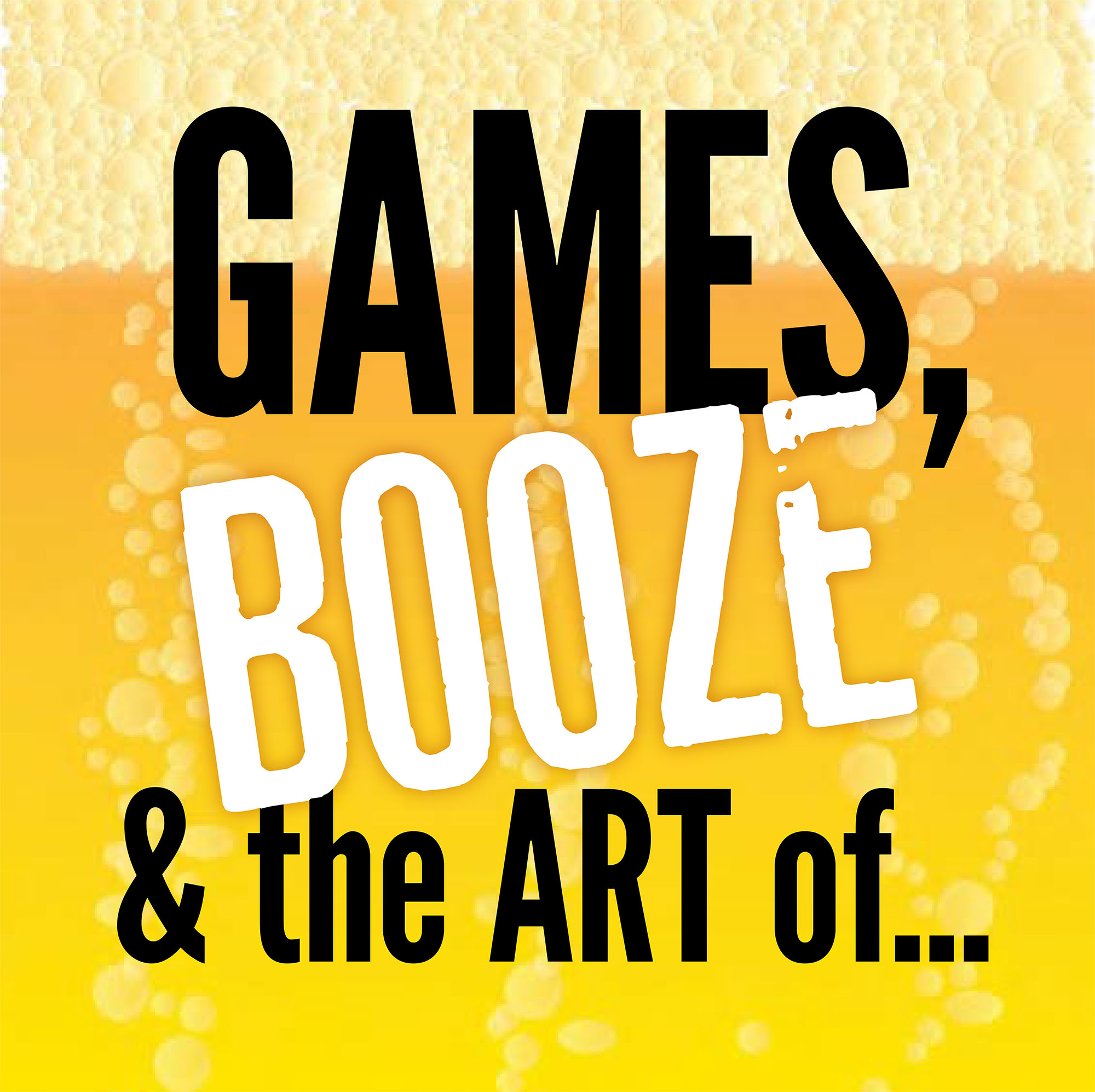 Games, Booze and the Art of... logo